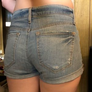 Ann Taylor Loft Cut Off Cuffed Shorts